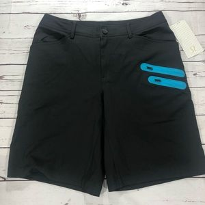 Lululemon Commute Shorts Athletic Fit Charcoal 11""